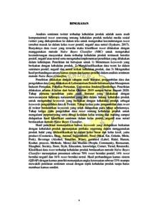 Analisis Sentimen Terhadap Kehalalan Produk Berdasarkan Opini Dari Twitter Menggunakan Metode Naive Bayes Classifier Repository Universitas Jenderal Soedirman